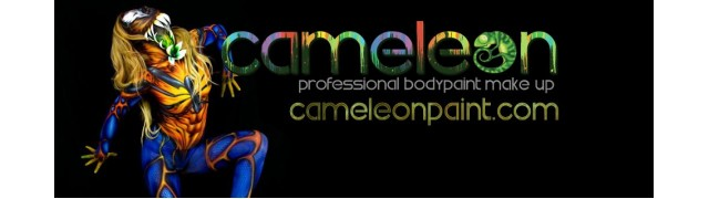 Cameleon Face Paint