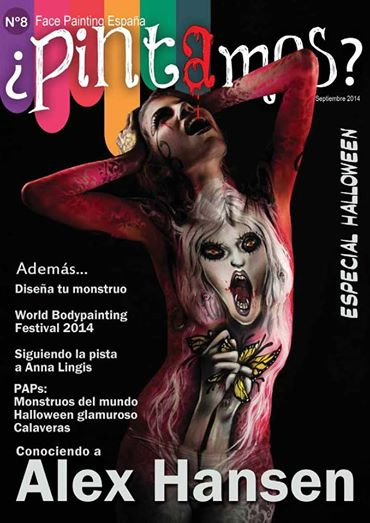Pintamos - Free online Face and Body Painting Magazine