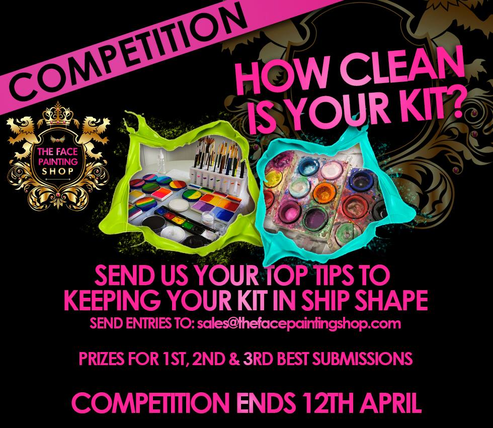 How Clean is your face painting kit competition