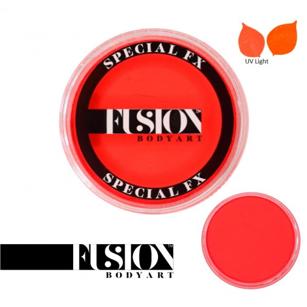 Fusion Body Art FX UV Neon Orange