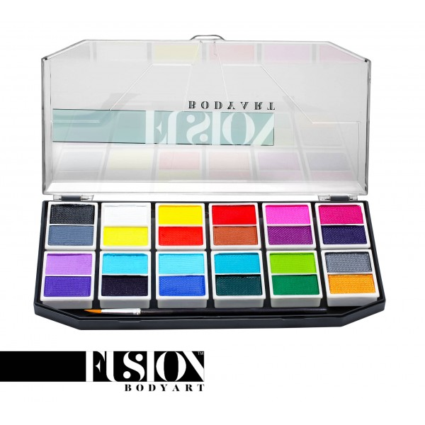 Fusion Body Art | The Ultimate Face Painting Palette - 24 x 6gr Colors