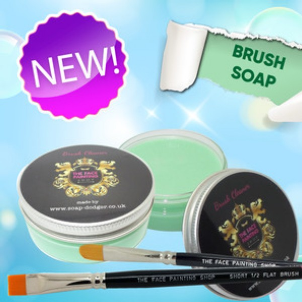 The Face Painting Shop Brush Soap Green