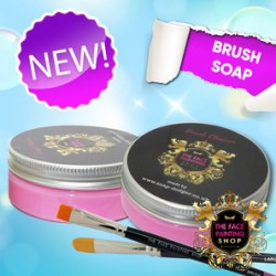 The Face Painting Shop Brush Soap Pink