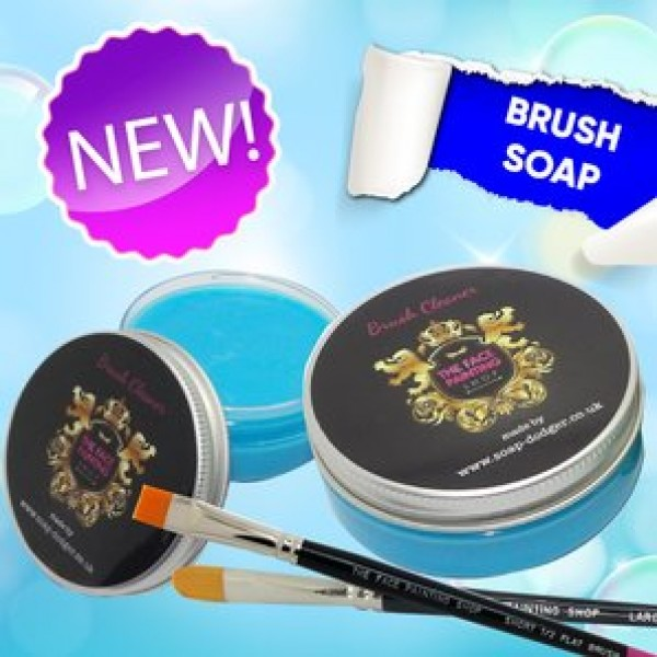The Face Painting Shop Brush Soap Blue