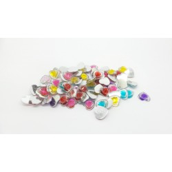 Mixed Heart Gems Bag