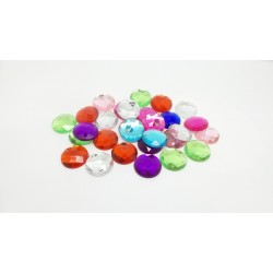 Mixed Large Round Gems Bag