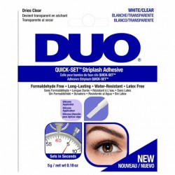 DUO Quick-Set Strip Lash Adhesive White/Clear (14g)