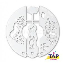 Trilogy Tap Stencil Unicorn