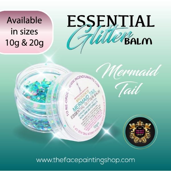 Essential Glitter Balm Mermaid Tail 10g