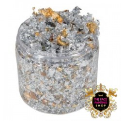 Cosmic Shimmer Flakes Silver Dream