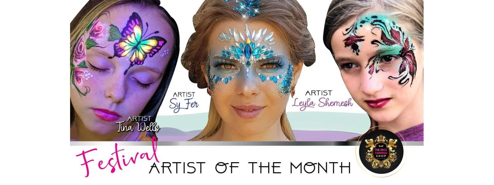 The Face Painting Shop Artist of the month