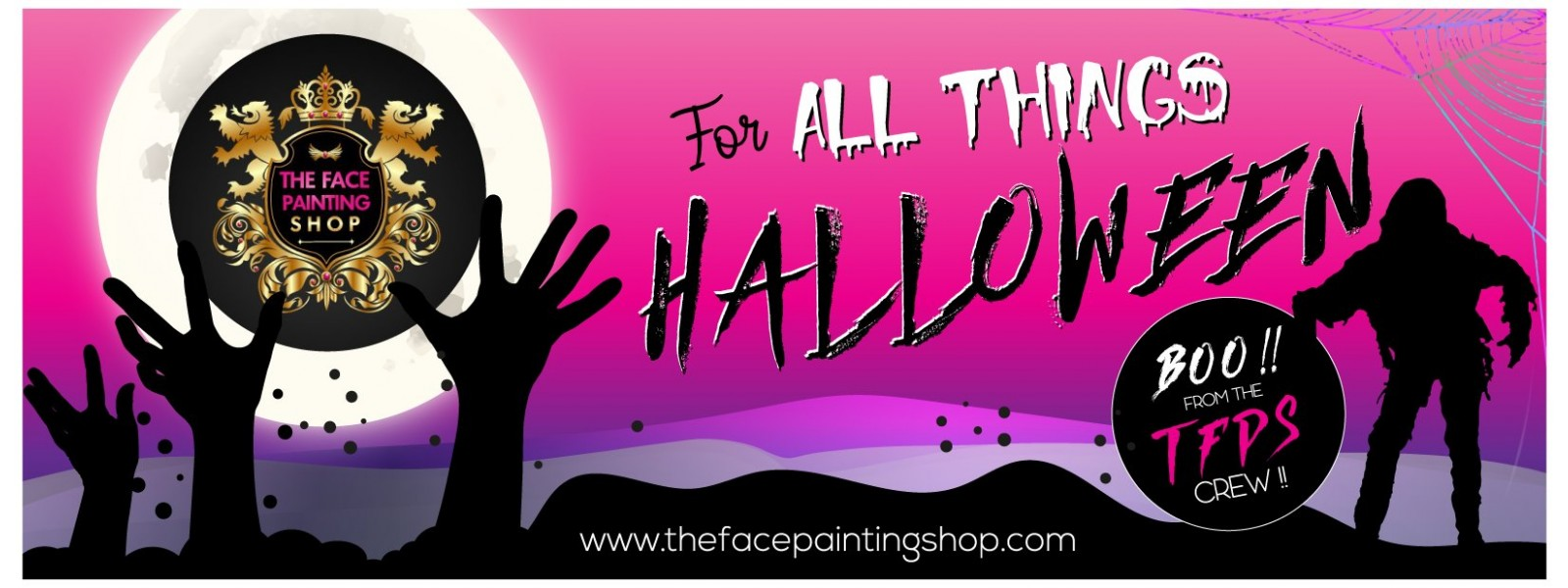 HALLOWEEN FACE PAINTING SUPPLIES