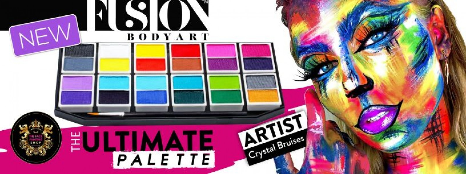 Fusion Body Art Palette