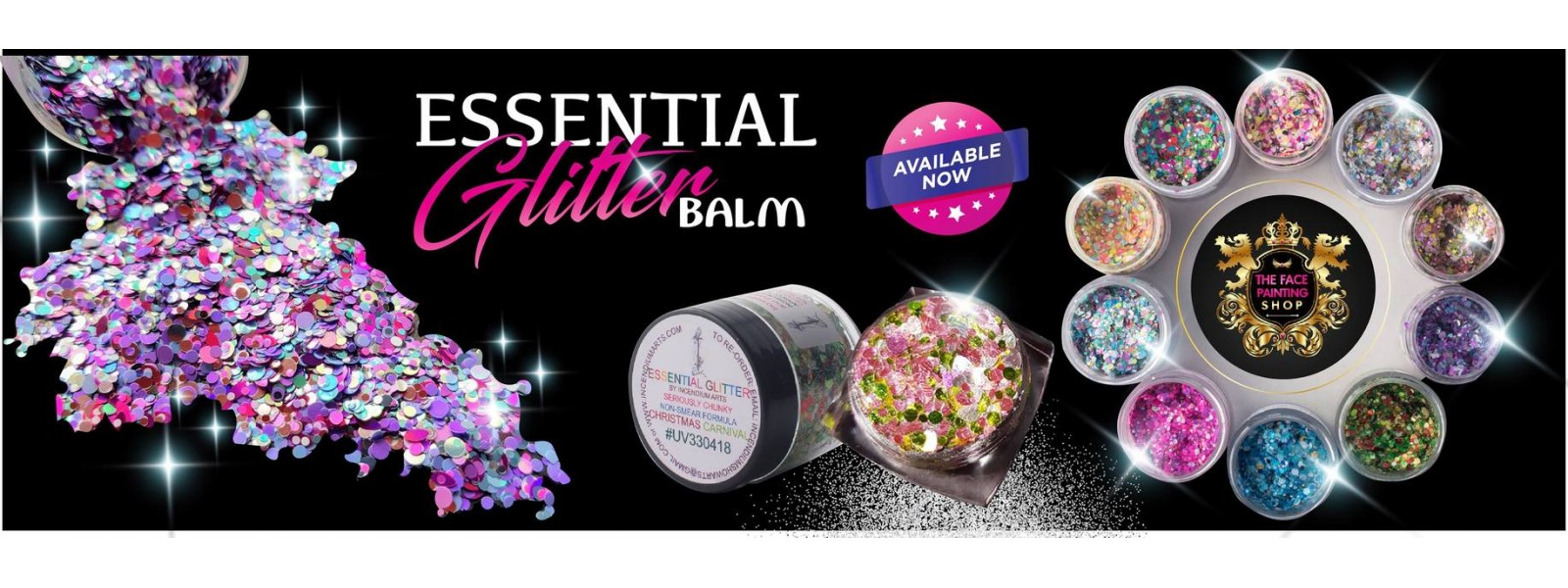 Essential Glitter Balm