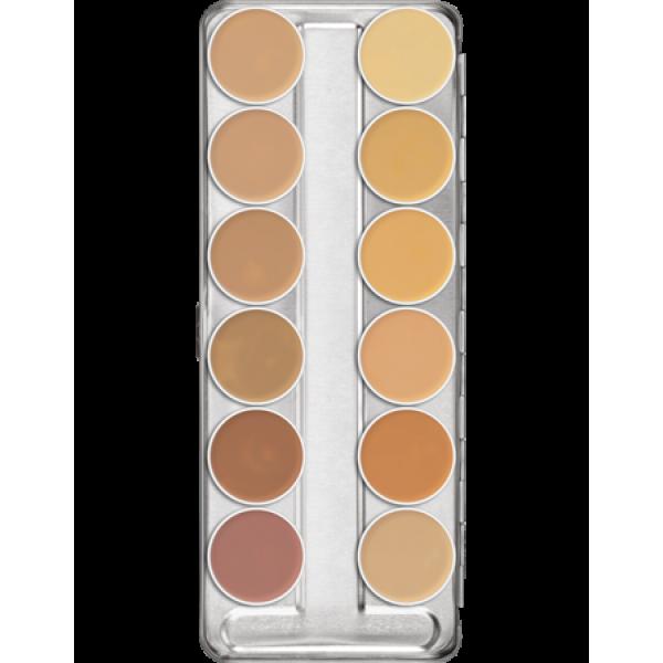 Dermacolor Camouflage Creme Palette 12 Colors A