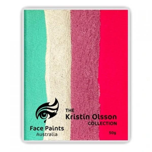Face Paints Australia Combo 50g Kristin Olsson - Coral Reef
