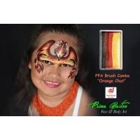 Face Paints Australia One Stroke Orange Chat