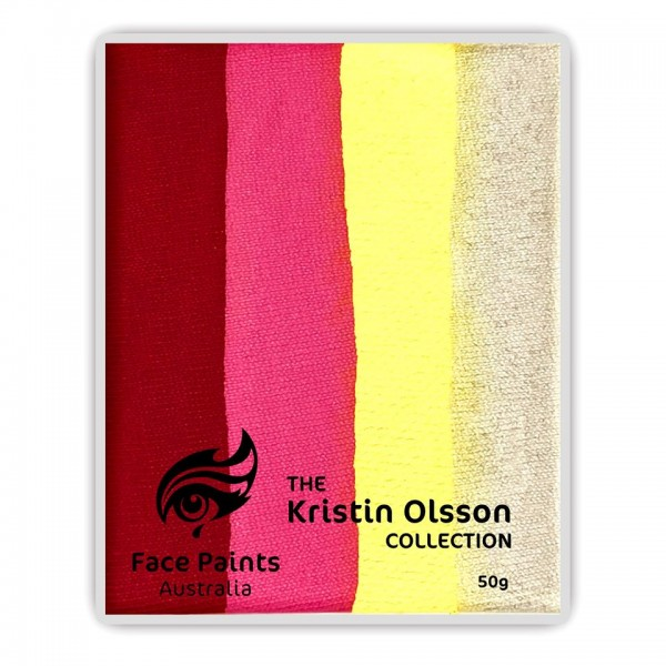 Face Paints Australia Combo 50g Kristin Olsson - Rosy Maple