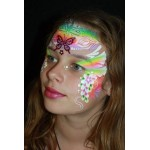 Face Paints Australia Rainbow Cake Serendipity