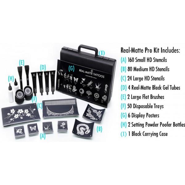 Glimmer Real Matte Pro Kit