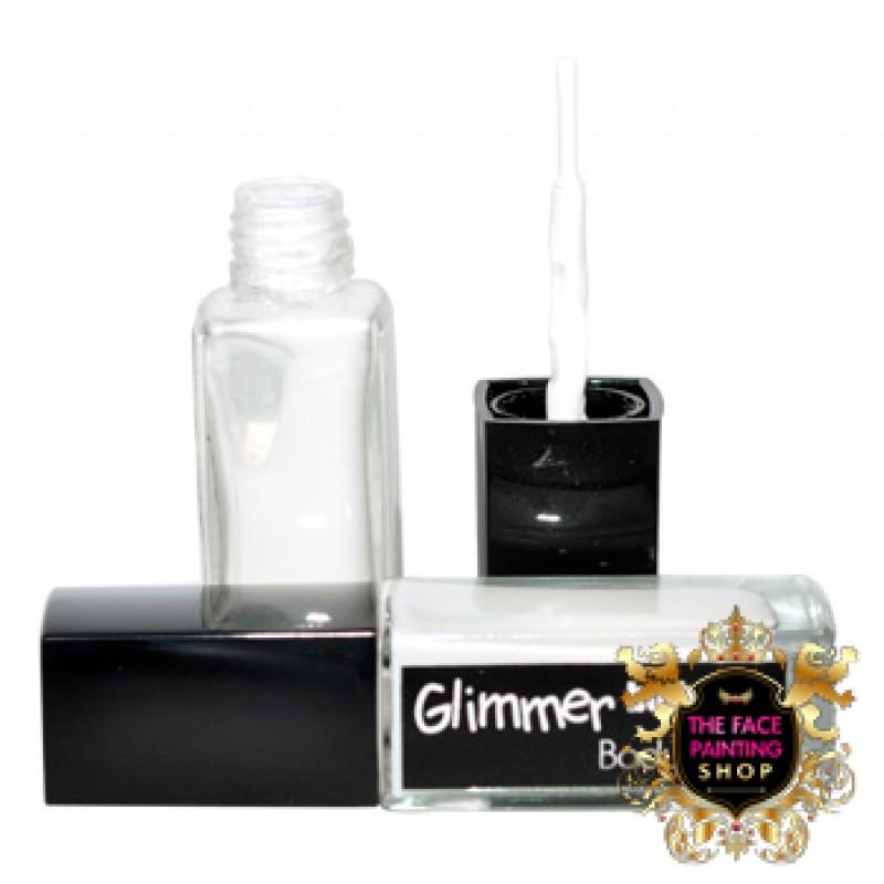Glimmer body art tattoo glue 10ml for Glitter tattoo glue