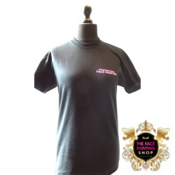 Pro T Shirt Black/Pink Medium