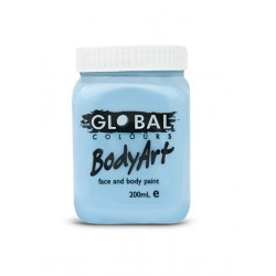 Global Body Art Liquid Light Blue 200ml