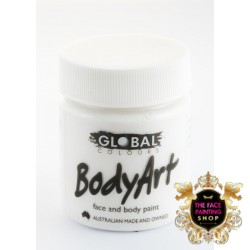 Global Body Art Liquid White 45ml