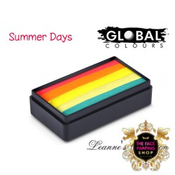 Global Fun Stroke Neon Summer Days