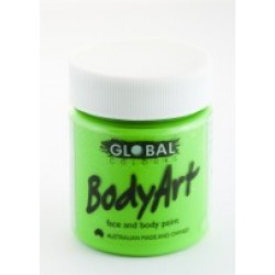 Global Body Art Liquid Flo Green 45ml