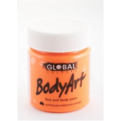 Global Body Art Liquid Flo Orange 45ml