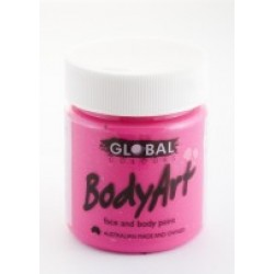 Global Body Art Liquid Flo Pink 45ml