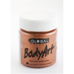 Global Body Art Liquid Metallic Copper 45ml