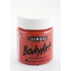 Global Body Art Liquid Brilliant Red 45ml