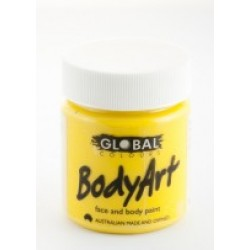 Global Body Art Liquid Yellow 45ml
