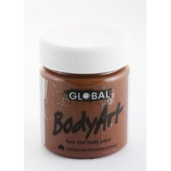 Global Body Art Liquid Brown 45ml