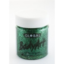 Global Body Art Liquid Glitter Green 45ml