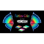 Global Rainbow Cake Bright Rainbow