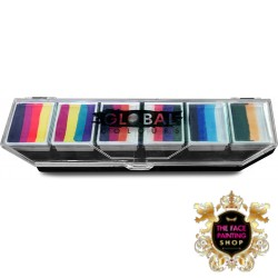 Global One Stroke Palette Rainbow Splash