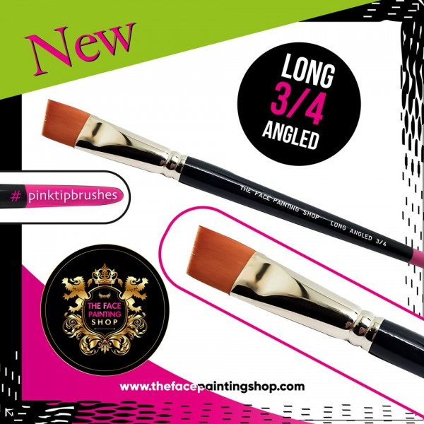 The Face Painting Shop 3/4 Long Angled Brush