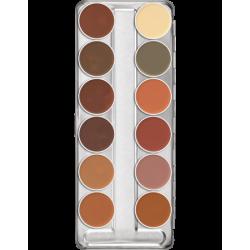 Dermacolor Camouflage Creme Palette 12 Colors B