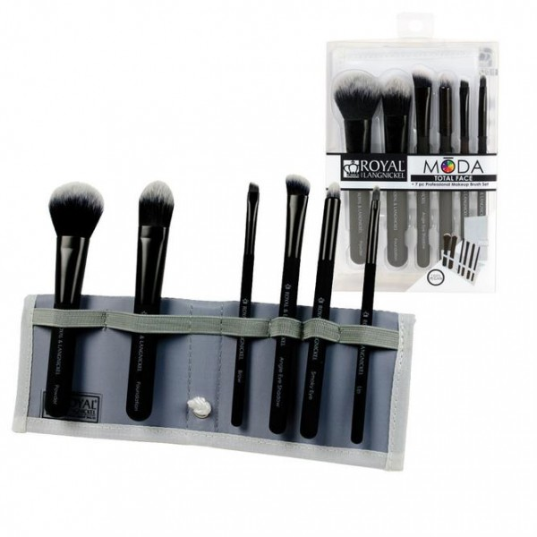 MODA® 7pc Total Face Flip Kit Black