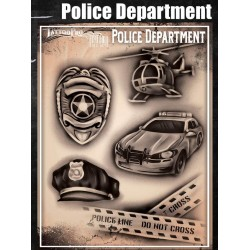 Airbrush Tattoo Pro Police Dept