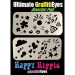 Graffiti Eyes Booster Pack Happy Hippie