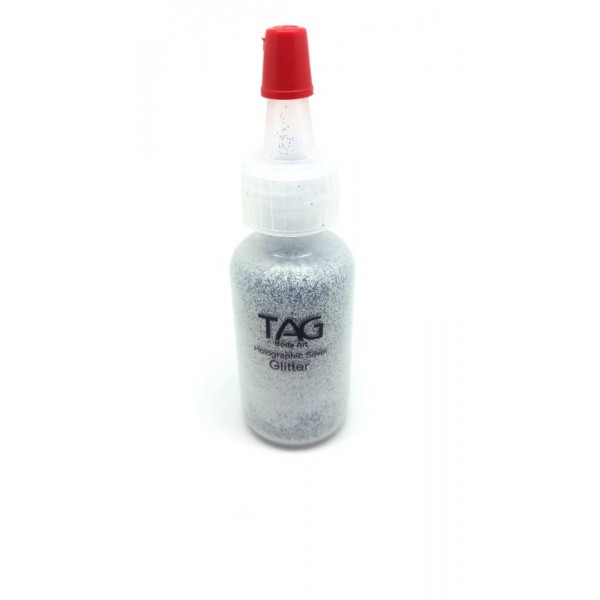 TAG Body Art Glitter Holographic Silver
