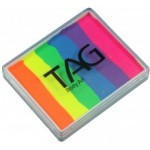 Tag Body Art 50g Split Cake Neon Rainbow