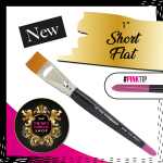 The Face Painting Shop Short 1 Inch Short Flat Brush
