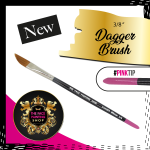The Face Painting Shop 3-8 Inch Dagger Brush