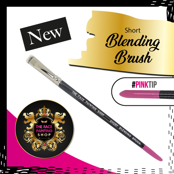 The Face Painting Shop Short Blending Brush