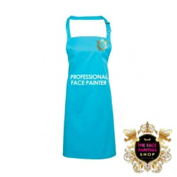 Professional Face Painter Apron - Surf Blue